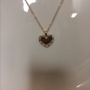 Jewelry - Heart shaped necklace with the name Christina